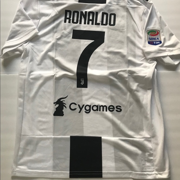 san francisco 64fb5 4403e Juventus CRISTIANO RONALDO new Jersey Adidas